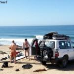 Surfing Mirleft