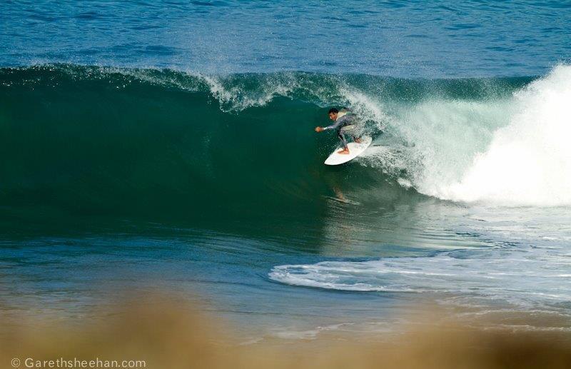 surfing moroccan slab